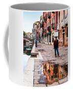Venetian Baker, Reflection, Rain Puddle Coffee Mug