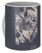 Venetian Ball Room Mask Next To Wilted Flowers Coffee Mug