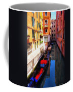 Venetian Canal Coffee Mug by Jeff Kolker