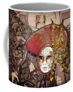 Venetian Mask Coffee Mug