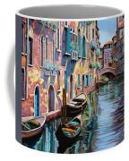 Venezia In Rosa Coffee Mug by Guido Borelli