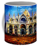 Venice - Pigeons On San Marco Square Coffee Mug