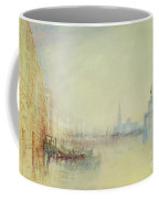 Venice - The Mouth Of The Grand Canal Coffee Mug by Joseph Mallord William Turner