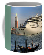 Venice Cruise Ship 2 Coffee Mug by Andrew Fare