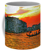 Venice Eventide Impasto Coffee Mug