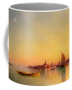 Venice From The Lagoon At Sunset Coffee Mug by Ivan Konstantinovich Aivazovsky