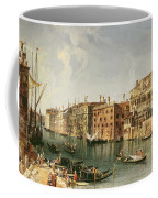 Venice, Grand Canal And The Fondaco Dei Turchi  Coffee Mug