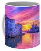 Venice Grand Canal At Sunset Coffee Mug