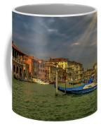 Venice Grand Canal God Sun Rays Coffee Mug