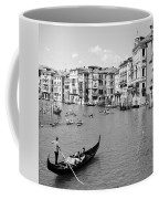Venice In Black And White Coffee Mug