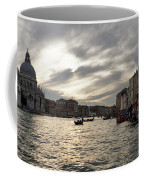 Venice Italy - Pearly Skies On The Grand Canal Coffee Mug