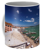 Venice Lagoon Panorama - Bird View Coffee Mug