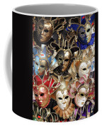 Venice Masks Coffee Mug