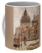 Venice, Italy - Santa Maria Della Salute Coffee Mug by Mark Forte