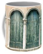 Venice Window Flower Pot Coffee Mug
