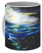 Ventura Seascape At Night Coffee Mug