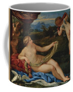 Venus And Cupid Coffee Mug