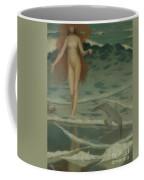 Venus Born Of The Sea Foam  The Birth Of Venus, Detail Coffee Mug