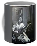 Vermeer Guitar Player Coffee Mug