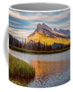 Vermillion Lakes And Mt Rundle II Coffee Mug