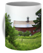 Vermont Barn With Tire Swing Coffee Mug