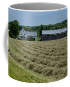Vermont Farmhouse With Hay Coffee Mug
