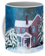 Vermont Studio Center In Winter Coffee Mug