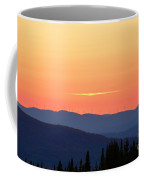 Vermont Sunset With Wind Turbines Coffee Mug
