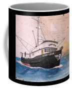 Verna Jean Fishing Boat Nautical Chart Map Coffee Mug