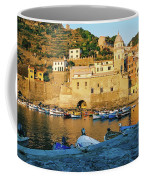 Vernazza, Italy, At Sunset Coffee Mug