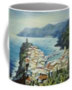 Vernazza Cinque Terre Italy Coffee Mug