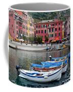 Vernazza Harbor Coffee Mug