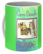 Vero Beach Map4 Coffee Mug