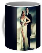 Veronica Carlson And Peter Cushing Coffee Mug