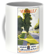 Versailles Travel Poster Coffee Mug