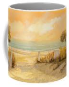Verso La Spiaggia Coffee Mug by Guido Borelli