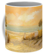 Verso La Spiaggia Coffee Mug by Guido Borelli