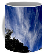Vertical Clouds Coffee Mug