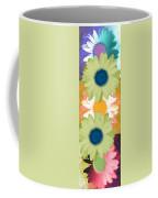 Vertical Daisy Collage II Coffee Mug