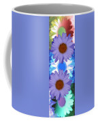 Vertical Daisy Collage Coffee Mug