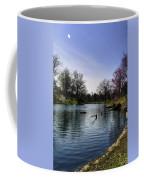 Vertical Pond Coffee Mug