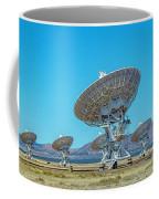 Very Large Array Side View Coffee Mug