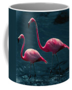 Very Pink Flamingos Coffee Mug