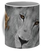 Very Sad Lion, Cry For Africa Coffee Mug