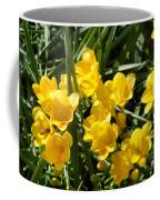 Very Sunny Yellow Flowers Coffee Mug