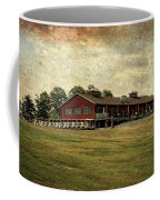 Vesper Hills Golf Club Tully New York Textured Coffee Mug