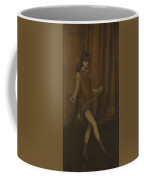 vHarmony in Yellow and Gold  The Gold Girl   Connie Gilchrist  James McNeill Whistler Coffee Mug