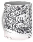 Via Nomentana Rome Coffee Mug