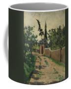 Vialetto Con Cipresso E Abete Coffee Mug