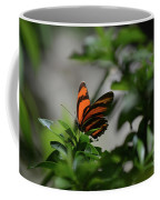 Vibrant Colors To A Orange Oak Tiger Butterfly Coffee Mug
